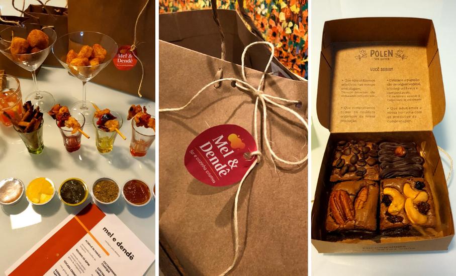 Curso de Gastronomia cria serviço delivery e drive-thru de ingredientes - Reinventar a sala de aula em meio à pandemia é um dos desafios de alunos e formandos