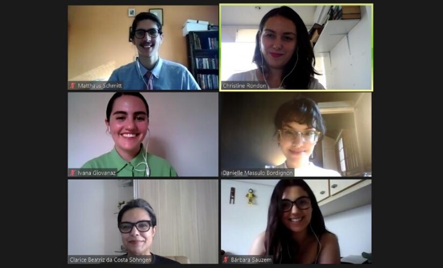 Alunos são aprovados para competição online de Direito Eleitoral no Brasil - Estudantes da Escola de Direito participarão da primeira edição a distância do Electoral Moot Competition