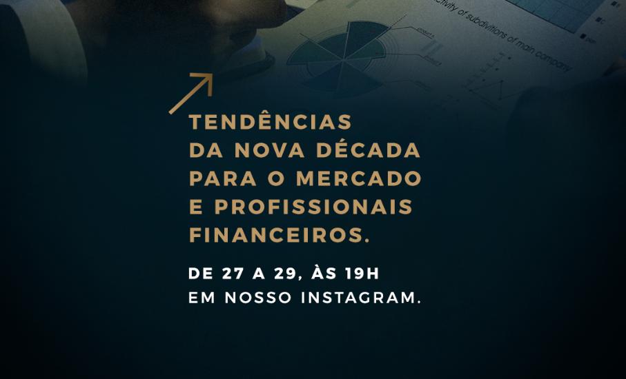 Aulas abertas gratuitas sobre finanças com especialistas dos cursos do PUCRS Online - Eventos online falarão sobre as tendências da nova década para o mercado e para profissionais financeiros