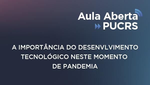 Participe de aulas abertas gratuitas com professores da PUCRS - Conversas transmitidas ao vivo pelo YouTube abordarão o futuro das profissões pós-pandemia
