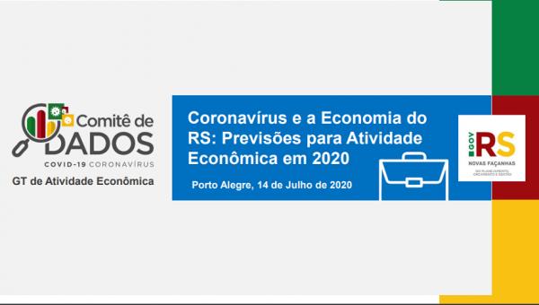 PUCRS integra estudo que prevê impactos da pandemia na atividade econômica do RS