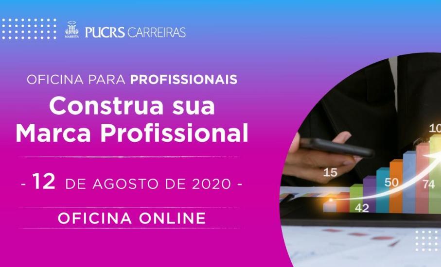 Desenvolva a sua marca pessoal com as oficinas do PUCRS Carreiras - Consultores abordarão algumas das principais ferramentas e técnicas para se destacar no mercado de trabalho