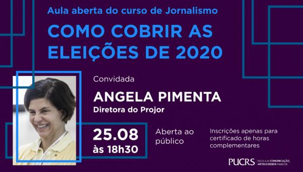 Curso de Jornalismo promove aula aberta gratuita sobre como cobrir eleições