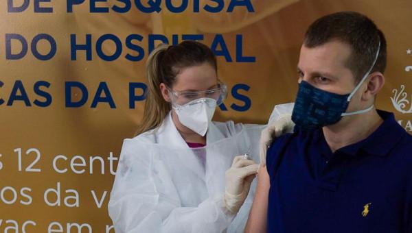 HSL recebe voluntários para o início da vacinação contra o coronavírus