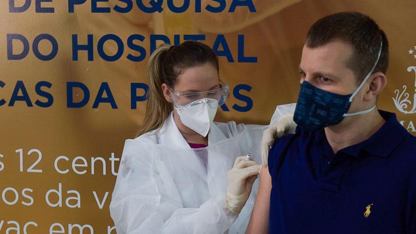 hospital são lucas, instituto butantan, vacina, covid-19, sinovac, vacina