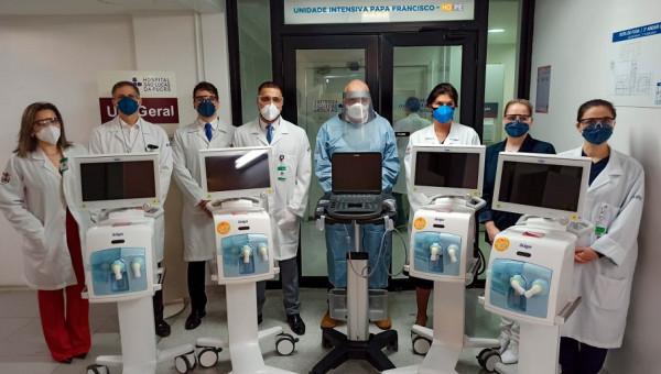 Vaticano doa respiradores para o Hospital São Lucas da PUCRS
