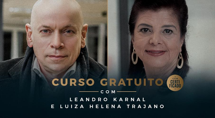 PUCRS Online oferece curso gratuito com Luiza Trajano e Leandro Karnal