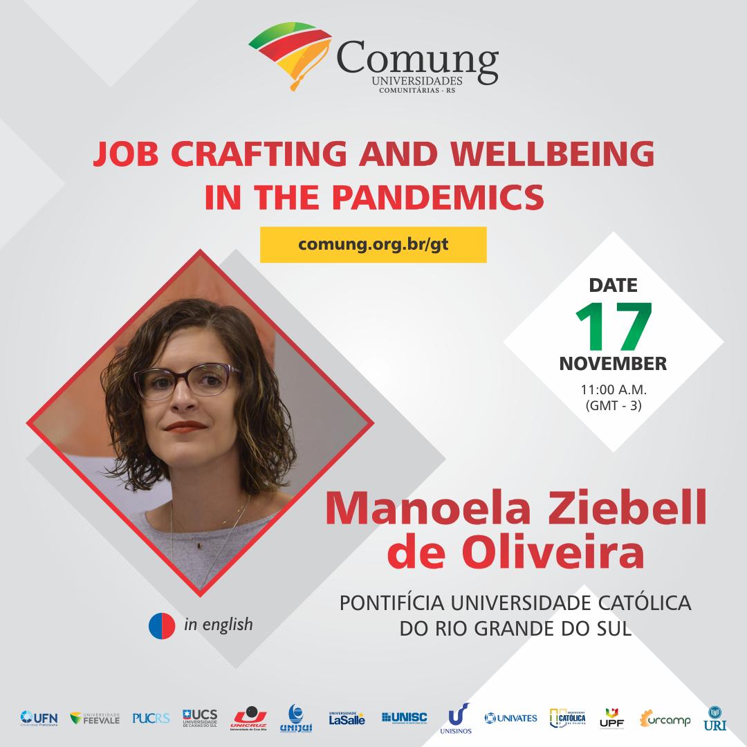 Manoela Ziebell de Oliveira, Comung