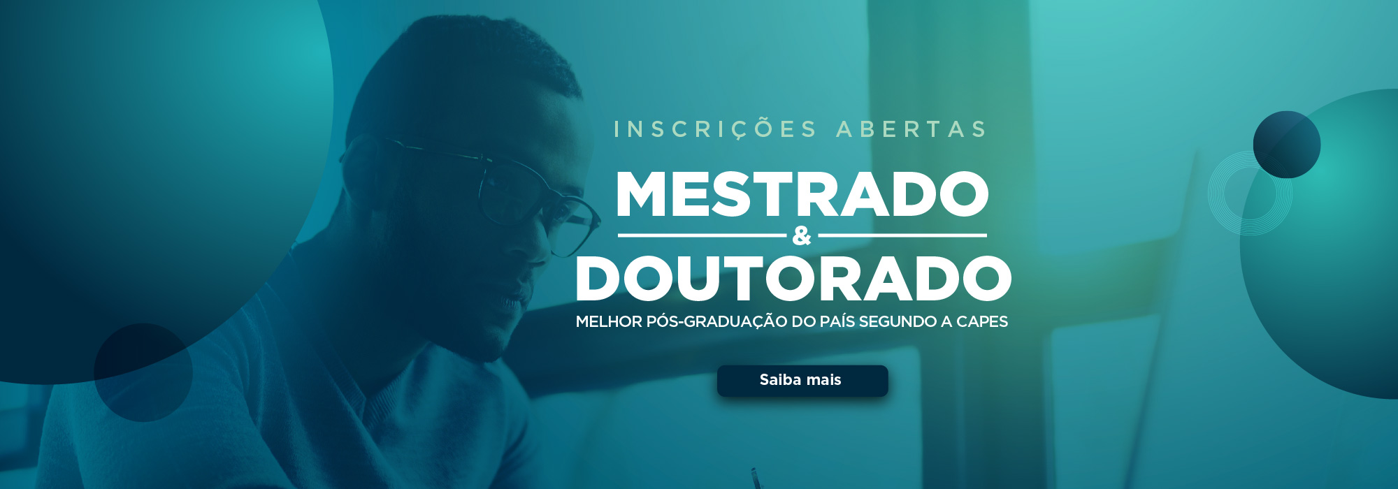 Inscrições Abertas Mestrado e Doutorado PUCRS - Melhor Pós-Graduação do País Segundo a Capes
