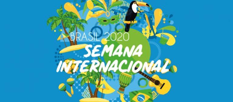 Professores palestram em semana internacional que homenageia o Brasil