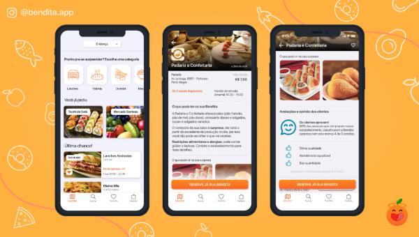 Estudantes criam aplicativo que combate o desperdício de alimentos