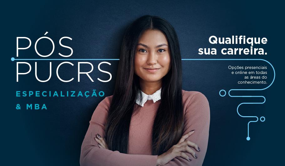 pós-graduação, especialização, MBA, PUCRS Online