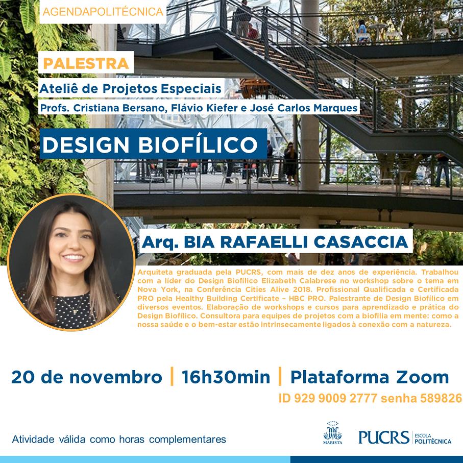Escola Politécnica, design biofílico