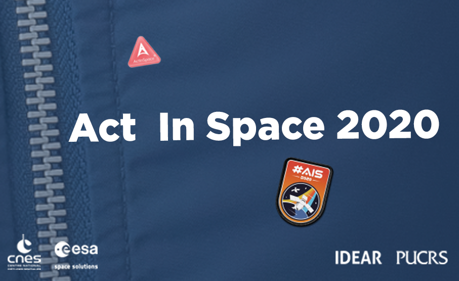 act in space, act in space 2020,idear,pucrs