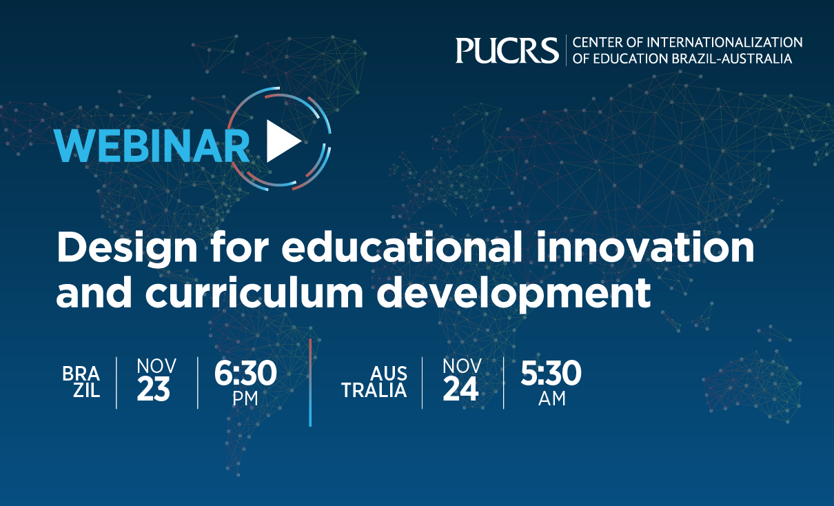 Design for educational innovation and curriculum development
