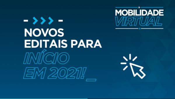 Inscrições abertas para a mobilidade virtual na graduação em 2021