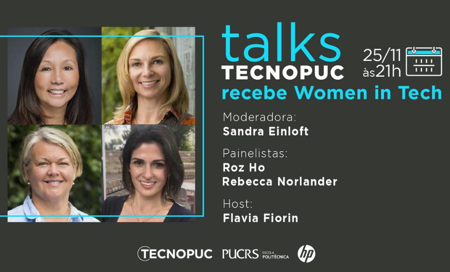 Tecnopuc Talks recebe Women in Tech