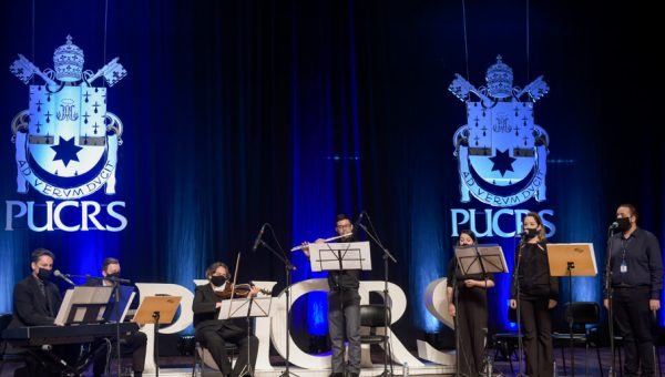 Nova gestão da PUCRS toma posse em ato solene durante evento de final de ano