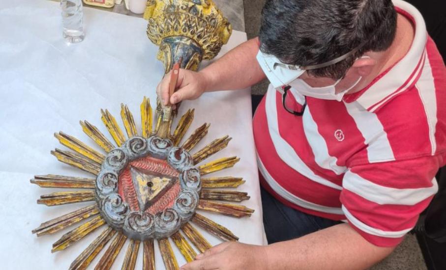 Exposição sobre o ostensório jesuíta de 300 anos