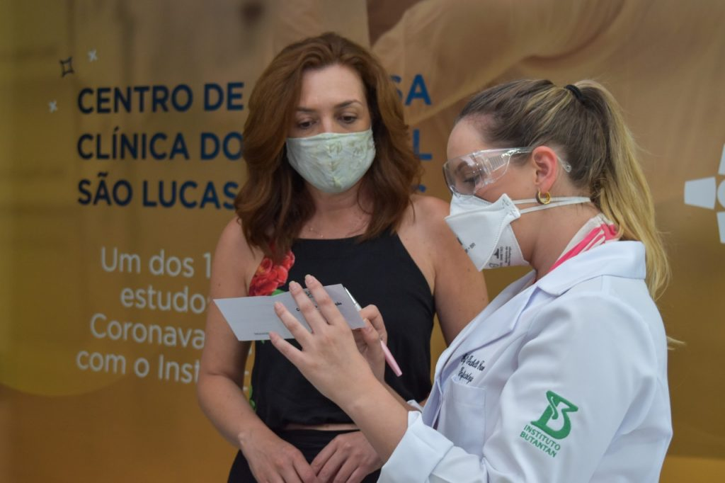 vacinação, Coronavac, HSL, Hospital São Lucas, Covid-19, coronavírus