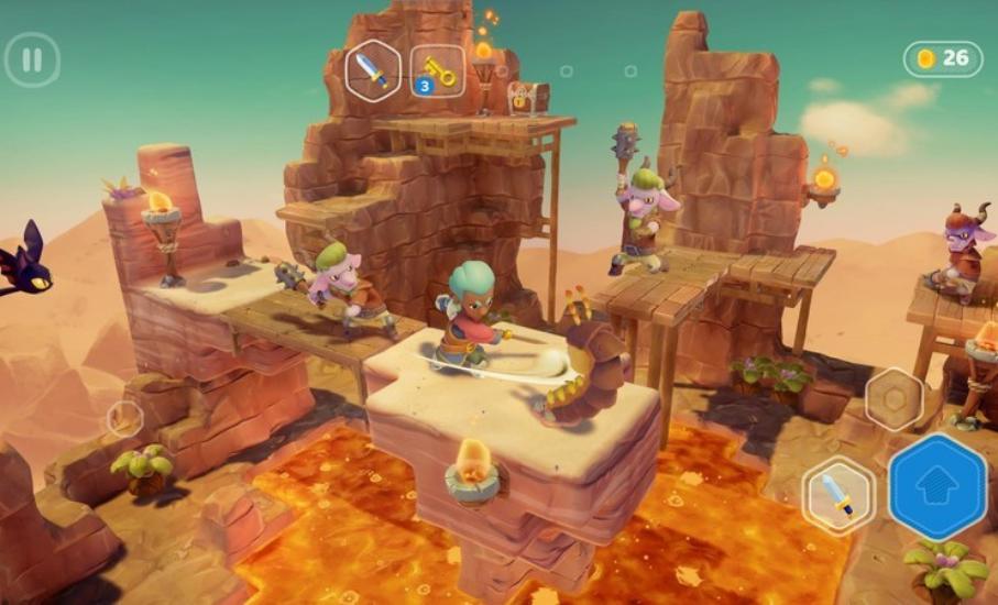 Jogo desenvolvido pela Aquiris estreia na Apple Arcade em 2021, a Netflix dos Games
