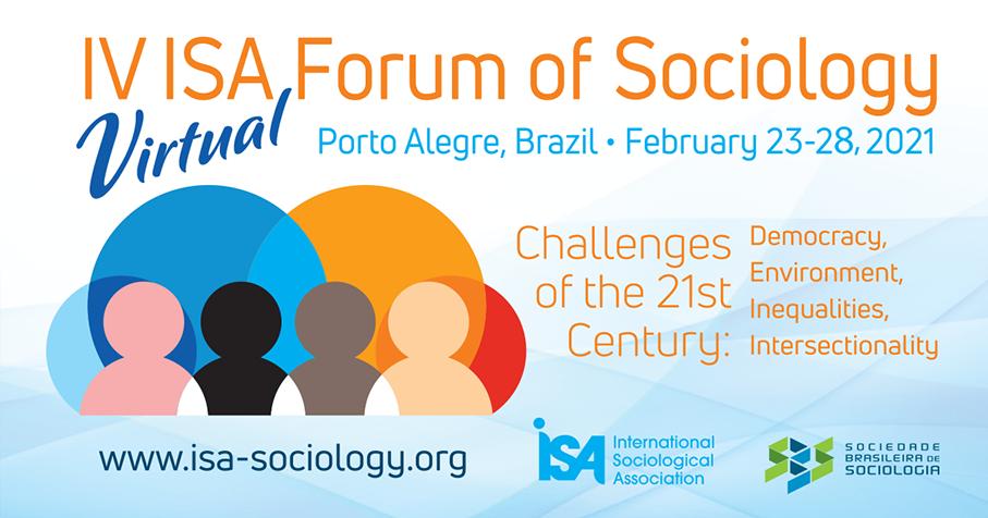 IV Fórum de Sociologia da ISA acontece de 23 a 28 de fevereiro