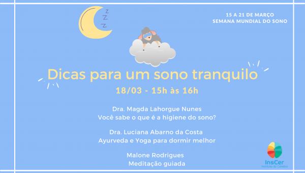 Instituto do Cérebro do RS oferece evento online e gratuito sobre cuidados com o sono