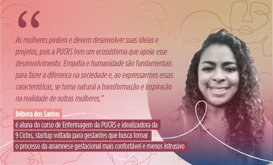Mês da Mulher, Dia Internacional da Mulher, Débora dos Santos