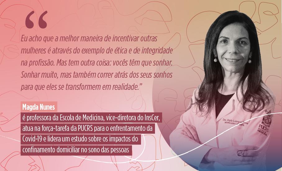 Mês da Mulher, Dia Internacional da Mulher, Magda Nunes