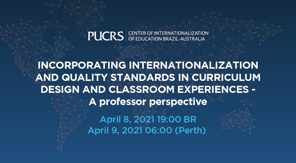 Centro de Internacionalização da Educação Brasil-Austrália promove novo ciclo de palestras