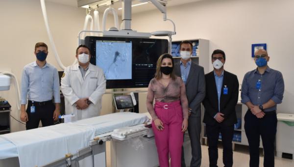 HSL é o primeiro Centro Formador de Radiologia Intervencionista para residentes do estado