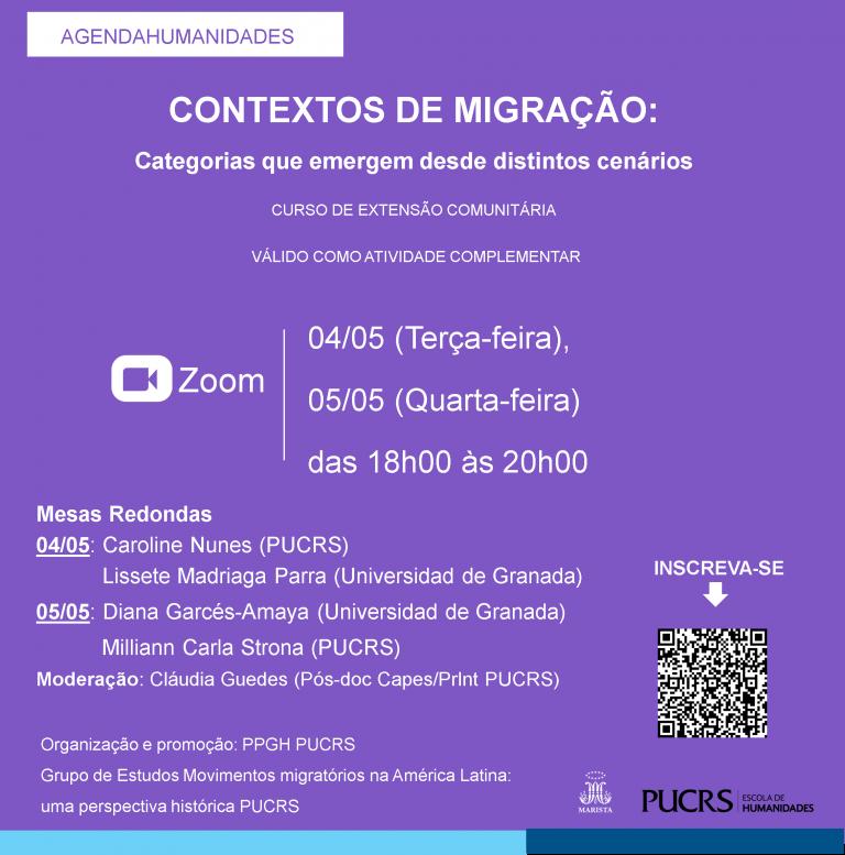 Curso de extensão sobre migração é gratuito e aberto ao público
