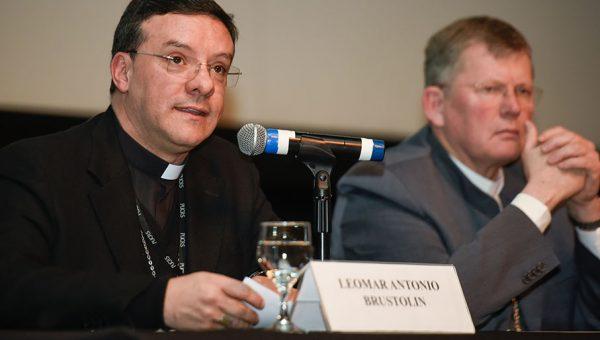 Papa Francisco nomeia Dom Leomar Brustolin, professor da Escola de Humanidades, como arcebispo de Santa Maria