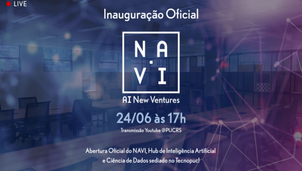NAVI: PUCRS inaugura novo Hub de tecnologia
