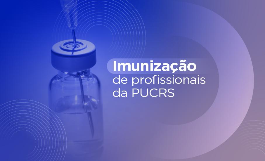 Imunização de profissionais da PUCRS será nos dias 14 e 15 de junho - Cronograma da Secretaria Municipal da Saúde (SMS) prevê a vacinação de profissionais do Ensino Superior com a primeira dose. Logística irá funcionar no hall da Biblioteca, com turnos e horários por faixa etária