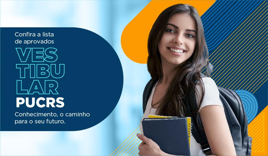 Matrículas PUCRS: parabéns aos aprovados e aprovadas no Vestibular da PUCRS - Confira o listão de estudantes que ingressam no segundo semestre de 2021 e o prazo das matrículas.