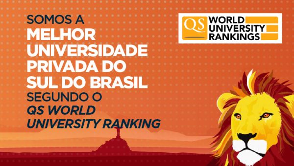 Ranking QS destaca PUCRS como a melhor universidade privada do Sul do Brasil