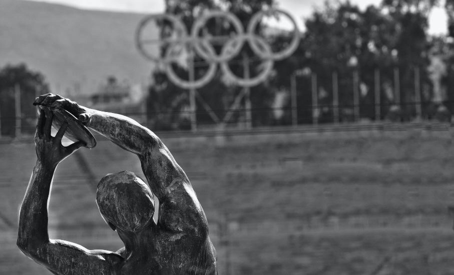Os Jogos Olímpicos surgiram na Grécia