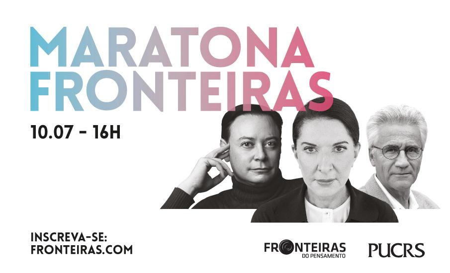 Maratona Fronteiras do Pensamento acontece gratuitamente neste sábado