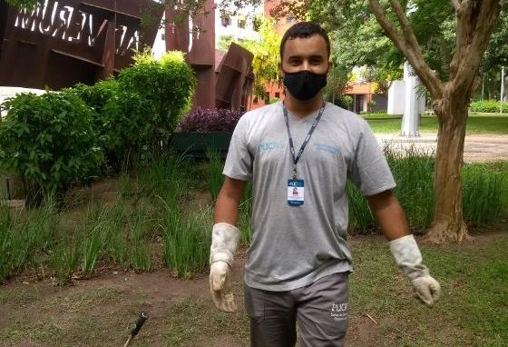 Jardineiro gera engajamento nas redes ao mostrar como é o dia a dia do trabalho