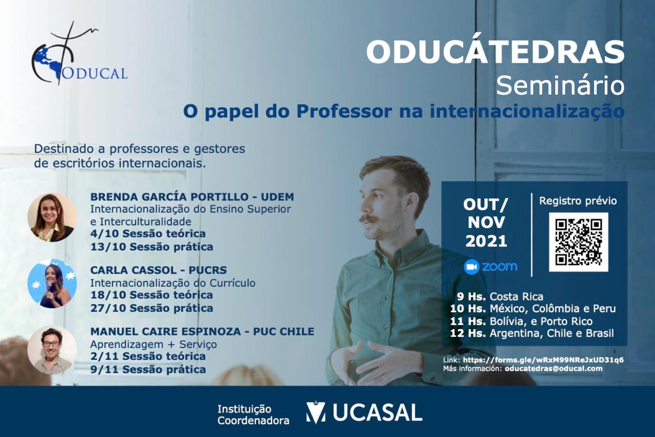 O papel do professor na internacionalização