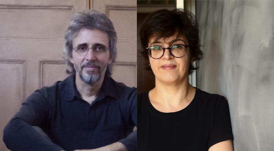 Vitor Ramil e Angélica Freitas