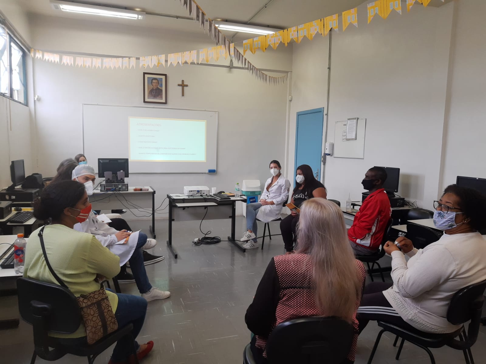 Grupo de Combate ao Tabaigsmo é conduzido pela equipe da Unidade de Saúde Vila Fátima