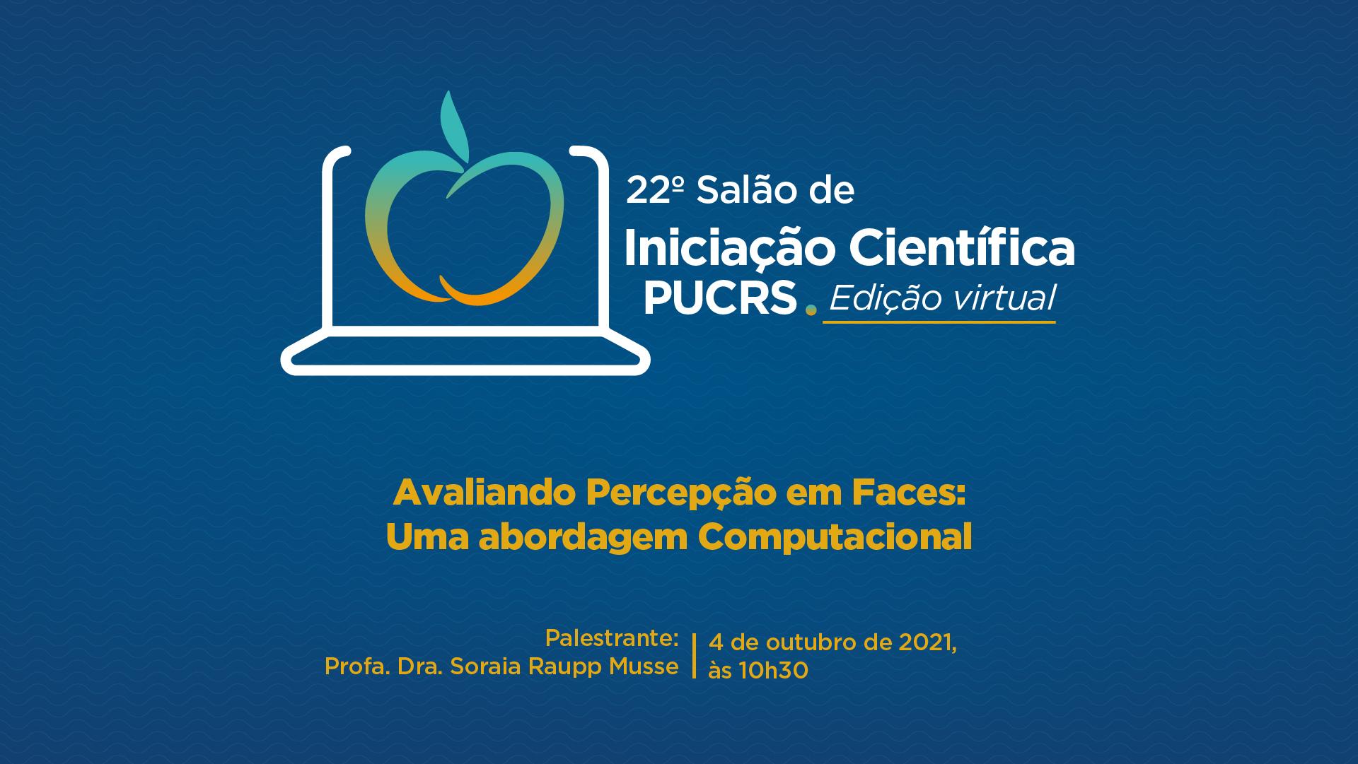22ª edição do Salão de Iniciação Científica reúne 686 estudantes
